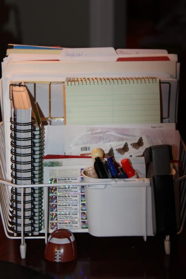 dish drain organizer